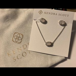 Kendra Scott Earrings and Necklace
